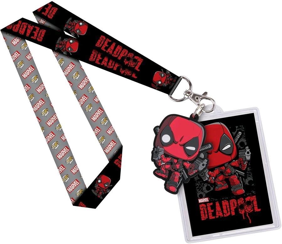Marvel: Deadpool Pop! Lanyard with Backer Card image