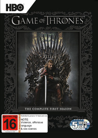 Game of Thrones - The Complete First Season on DVD image