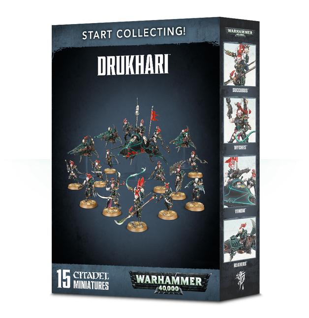 Warhammer 40,000 Star Collecting! Drukhari