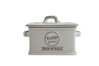 T&G Pride of Place Butter Dish (Grey)