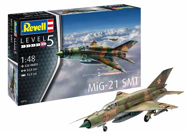 Revell: MIG-21 SMT - 1:48 Scale Model Kit