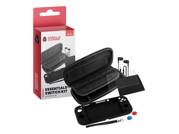 Gorilla Gaming Switch Lite Essentials Kit for Switch