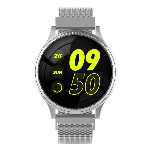 Smart Fitness Watch - Silver