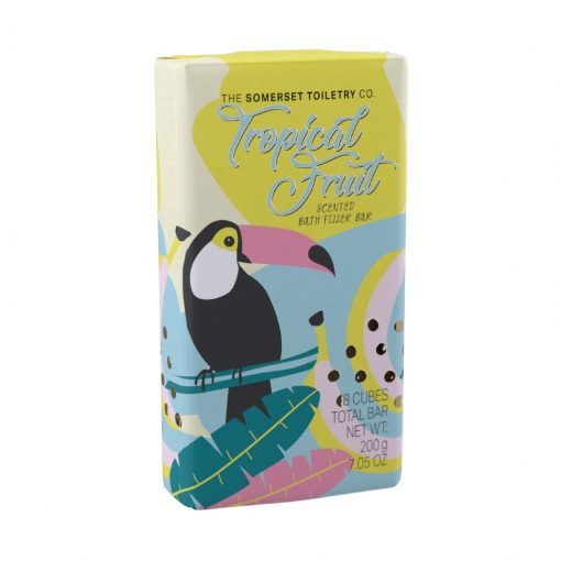 Somerset Toiletry Co: Bath Fizzer Bar - Tropical Fruit (200g)