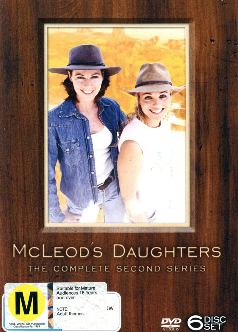 McLeod's Daughters - Complete Season 2 (6 Disc Box Set) on DVD image