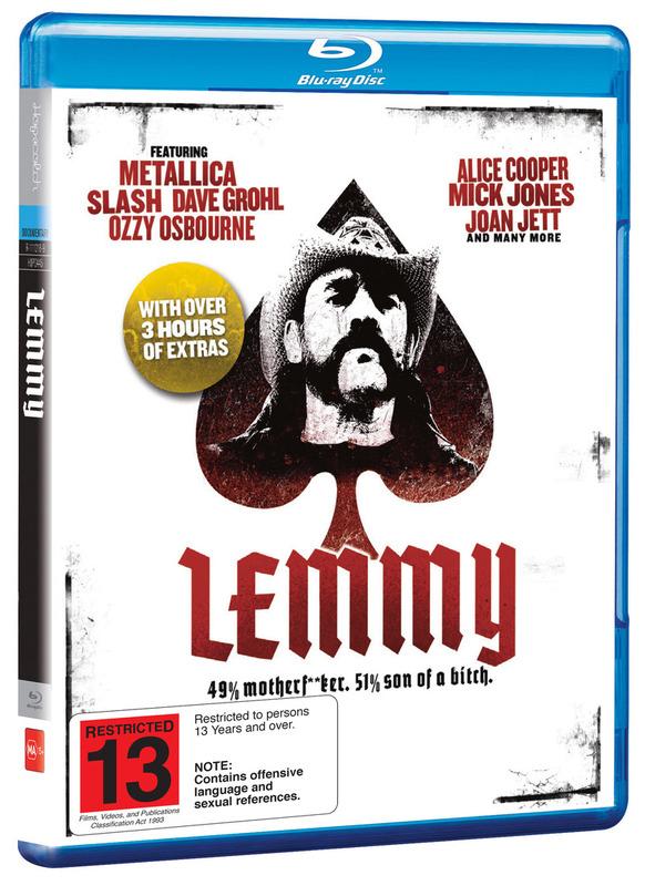 Lemmy on Blu-ray
