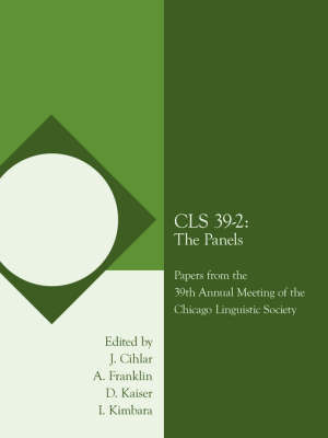 Cls 39-2 by J. Cihlar and A. Franklin