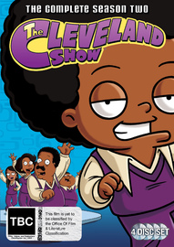 The Cleveland Show - Series 2 on DVD