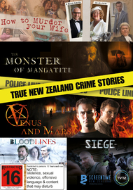 True New Zealand Crime Stories DVD