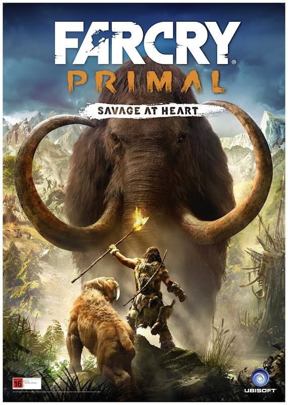 Far Cry Primal Poster At Mighty Ape Nz