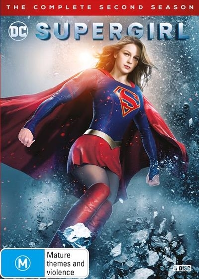 Supergirl - Season 2 on DVD image