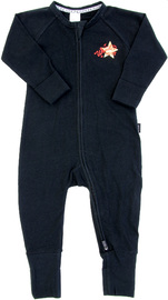 Bonds Zip Wondersuit Long Sleeve - Star Child - 12-18 Months