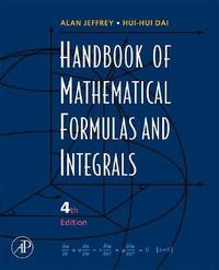 Handbook of Mathematical Formulas and Integrals by Alan Jeffrey image
