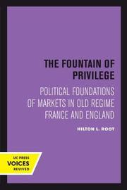 The Fountain of Privilege by Hilton L Root