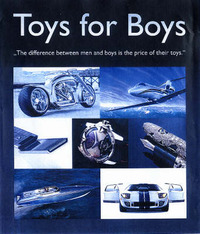 Toys for Boys: The Difference Between Men and Boys is the Price of Their Toys by Patrice Farameh image