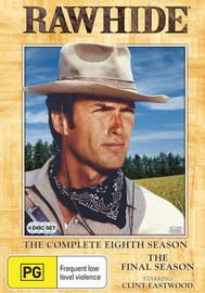 Rawhide Season 8 - The Final Season on DVD