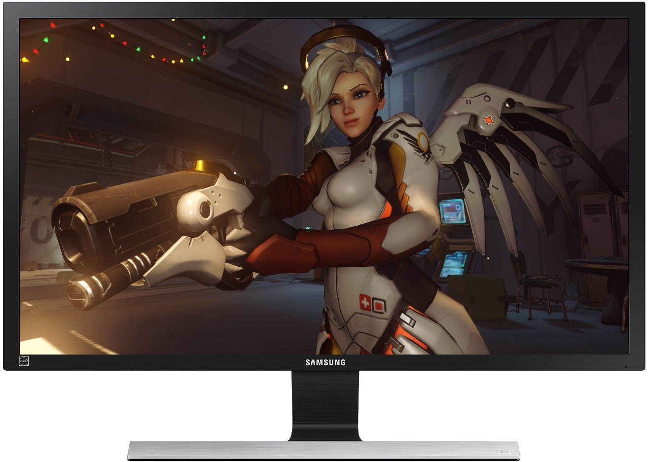 """28"""" Samsung 1ms UHD Gaming Monitor image"""