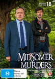 Midsomer Murders: Season 18 (Part 2) on DVD