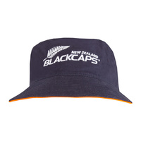 NZ Blackcaps Bucket Hat - Medieval Blue (Small/Medium)