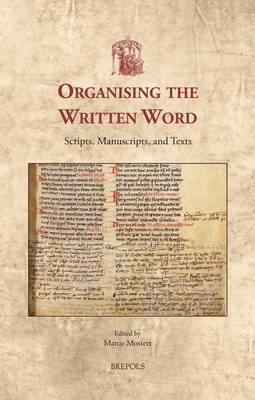 Organizing the Written Word by Marco Mostert image