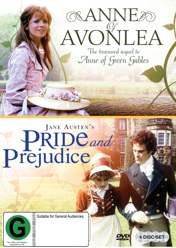 BBC Double Pack - Pride & Prejudice/Anne Of Avonlea on DVD
