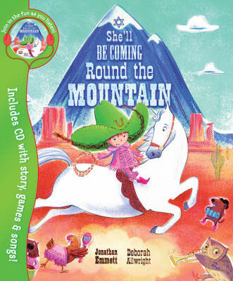 She'll be Coming Round the Mountain by Jonathan Emmett image