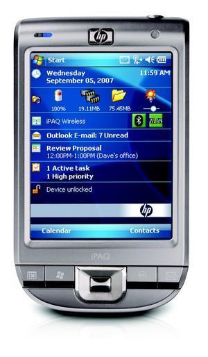 HP iPAQ 112 Classic 256MB Flash 64MB Sdram WM6.0