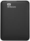1TB WD Elements USB 3.0 Portable Hard Drive (Black)