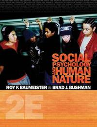 Study Guide for Baumeister/Bushman's Social Psychology and Human Nature by Roy F Baumeister image