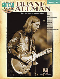 Duane Allman: Guitar Play-Along Volume 104