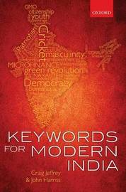 Keywords for Modern India by Craig Jeffrey