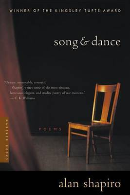 Song and Dance by Alan Shapiro image