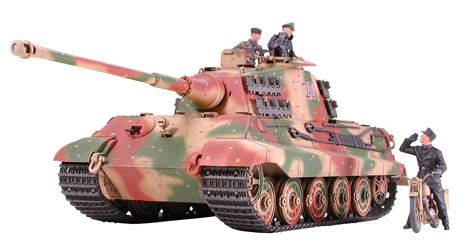 """Tamiya 1/35 King Tiger """"Porsche Turret"""" - Model Kit image"""