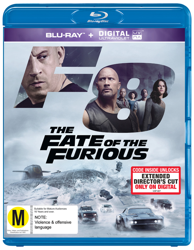 The Fate of the Furious on Blu-ray
