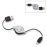 Belkin Retractable USB Mini Cable 4pin image