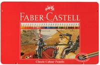 Faber-Castell: Classic Coloured (Tin of 36) image