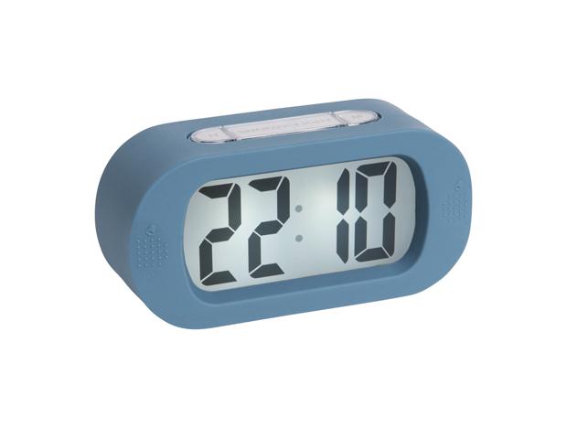 Karlsson Gummy Alarm Clock - Blue