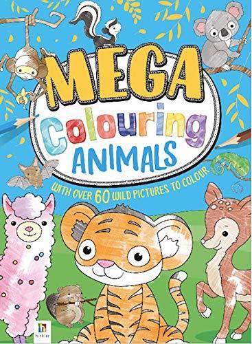 Mega Colouring: Baby Animals - Colouring Book