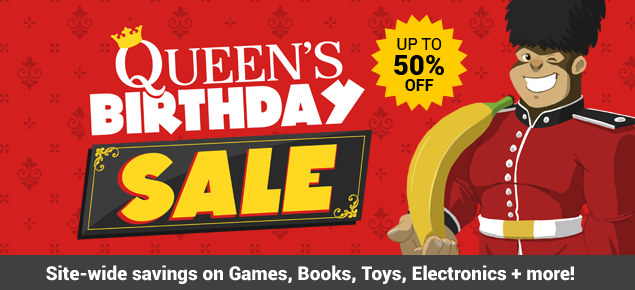 Queen's Birthday Sale