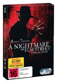 Nightmare On Elm Street Collection on DVD
