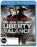 The Man Who Shot Liberty Valance on Blu-ray