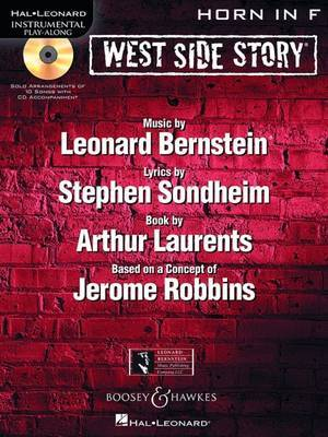 West Side Story for Horn: Instrumental Play-Along Book/CD Pack image