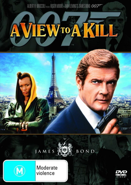 James Bond - A View to a Kill on DVD