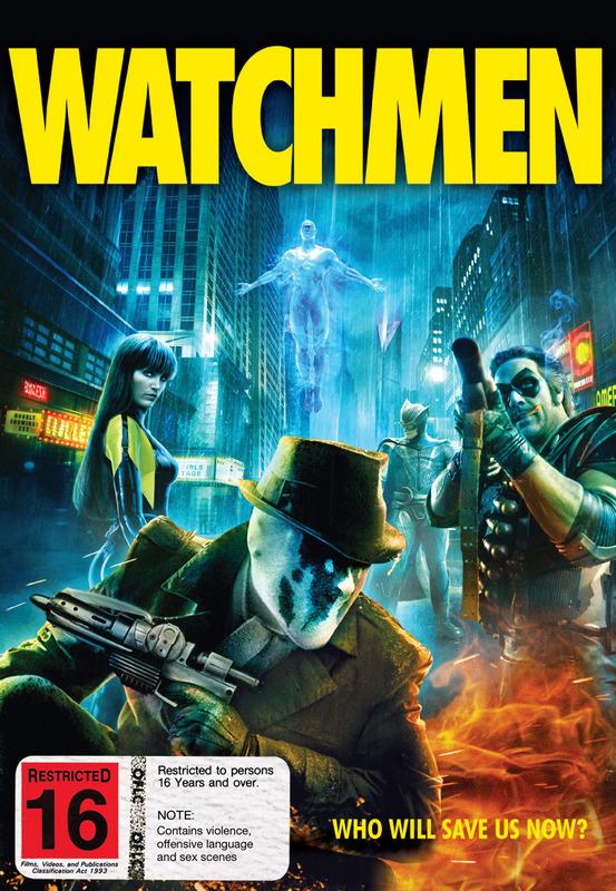 Watchmen (1 Disc) on DVD