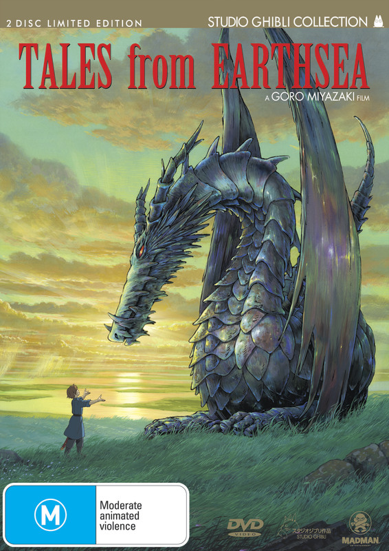 Tales From Earthsea on DVD