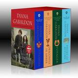 Outlander Boxed Set: Outlander, Dragonfly in Amber, Voyager, Drums of Autumn by Diana Gabaldon