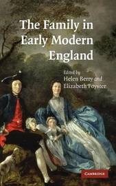 The Family in Early Modern England image
