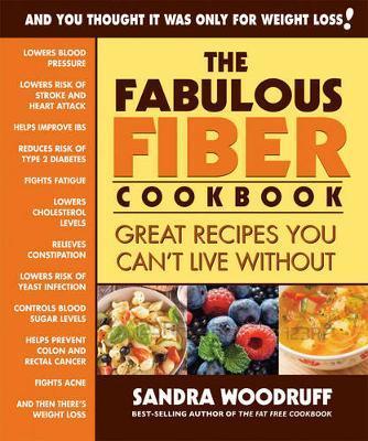 The Fabulous Fiber Cookbook by Sandra Woodruff image