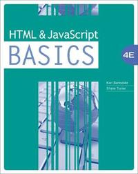 HTML and JavaScript BASICS by E Turner image