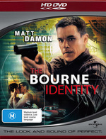 The Bourne Identity on HD DVD